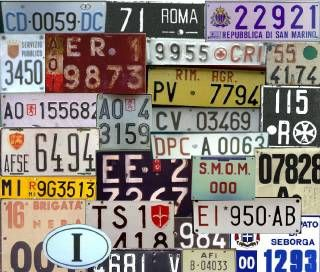 Plates in Rome